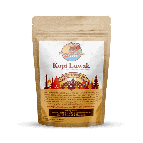 kopi luwak whole bean